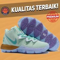 Sepatu Basket Sneakers Nike Kyrie 5 Squidward Green hijau Pria Wanita