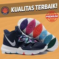 Sepatu Basket Sneakers Nike Kyrie 5 Third Eye Vision Pria Wanita