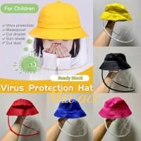 Faceshield Bayi Anak Anak Batita Topi Pelindung Anak Premium