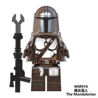 Lego Minifigure Star Wars The Mandalorian Din Djarin Mando WM916
