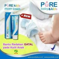 Pure Kids Itchy Cream - Pure Baby purebaby Cream Gatal Bayi Anak 15 gr