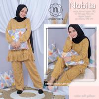 Piyama Wanita Muslimah Terbaru Nobita Pajamas Katun Rayon Recommended
