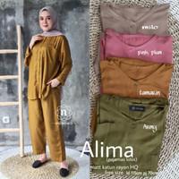 Super Brand Fest Piyama Wanita Muslimah Terbaru Alima Recommended HQ