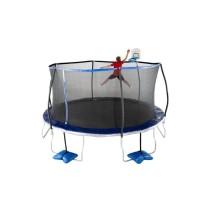 mainan trampolin ukuran besar 15 feet Tru-Jump Usa dewasa dan anak