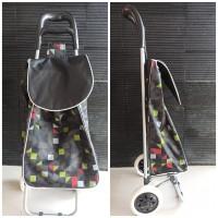 keranjang belanja/trolley bag/portable bag/keranjang lipat praktis