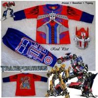 Baju Kostum Topeng (Anak) - Transformer Optimus Prime 1