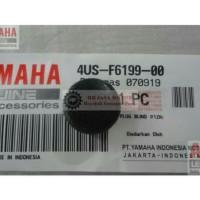 PLUG BLIND KARET TUTUP BOX BAGASI NMAX N MAX AEROX 155 ORIGINAL YGP