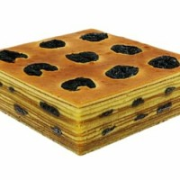 kue lapis legit wysman 20x20 prunes, keju, full jocellyn cakes