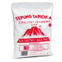 Tepung Tapioka | Sagu Cap Gunung Agung - 500 gr