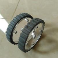 Velg Roda Ban Wheel Robot Line Follower Line Tracer