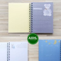 Dear Baby Pregnancy Journal A5 PeekMyBook Buku Tulis Catatan Jurnal