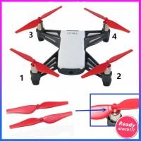 4pcs Baling-Baling Drone Rilis Cepat Untuk Dji Tello Mini Ccw/Cw