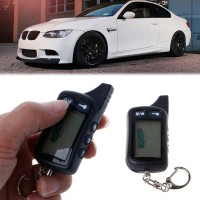 WER 2 Way Car Alarm Keyless Entry Remote Start System For Tomahawk