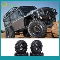 4Pcs Miniatur Ban Mobil OffRoad Rock Crawler RC Skala 1 10 Warna Hit