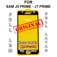 Tempered glass 5D Samsung J5 Prime - J7 Prime anti gores hp full cover