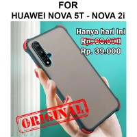 Shield case Huawei Nova 2i - Nova 5T casing cover fuze mika matte tpu - Nova 5T, Black