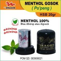 Menthol Gosok Cap Dragon (Po'peng) HSB 20gr