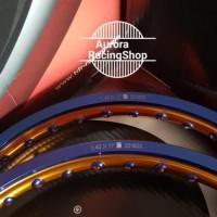 BEST SELLER Velg TDR Wx Shape Two Tone Set Ring 17 x 140 / 140 warna