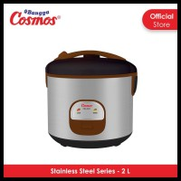 Cosmos Rice Cooker Stainless Steel Crj-9301 - 2L