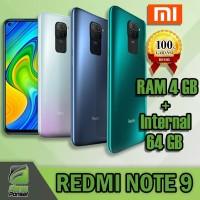 Redmi Note 9 - 4/64 GB Garansi Resmi Xiaomi Indonesia