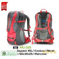 Tas Gunung / Tas Carrier / Ransel Camping Original - ARJ 025 - Merah