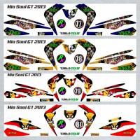 Decal Sticker Striping SEMI FullBody Variasi Mio Soul Gt 2012-2014 -2