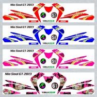 Decal Sticker Striping SEMI FullBody Variasi Mio Soul Gt 2012-2014 -5