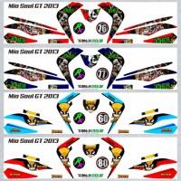 Decal Sticker Striping SEMI FullBody Variasi Mio Soul Gt 2012-2014 -6