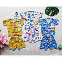 Velvet Junior Setelan Baju Bayi Lengan pendek size new born (0-3 bln)