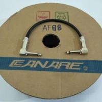Kabel jumper efek gitar 25 cm canare hitam