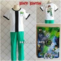 Baju Kostum Anak Karakter Superhero BEN10 BENTEN BEN 10 5-8 Tahun