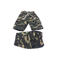 BEST SELLER Celana Pendek Cargo Anak Twill Army