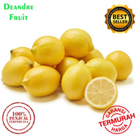 Buah Jeruk Lemon Fresh 1kg TERMURAH DIJAMIN MURAH DIBAWAH PASARAN