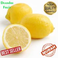 Buah Jeruk Lemon import 1kg TERMURAH DIJAMIN MURAH DIBAWAH PASARAN bos