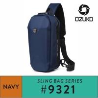OZUKO Sling Bag #9321 - navy