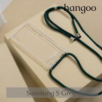 Casing hp Samsung S tali hijau hangoo