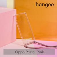 Casing hp Oppo tali pastel pink hangoo