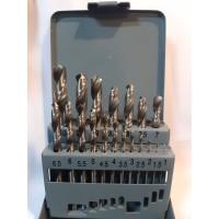 Mata Bor Besi 19 Pcs Set Fujiyama Drill Bits HSS Ukuran 1 - 10mm