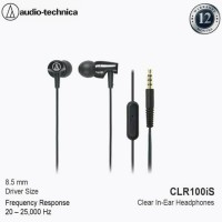 Audio Technica ATH CLR100IS Headset With Mic CLR 100IS Garansi Resmi