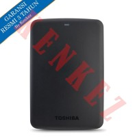Toshiba Canvio Basic Hardisk Eksternal 1TB USB3.0 - Hitam [FS]