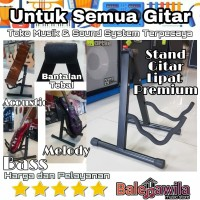 Stand Gitar Guitar Lipat Dluxe Import Stand Gitar Acoustic / Electric