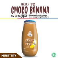 Mujigae Banana Milk Chocolate 250 mL / Susu Pisang Korea