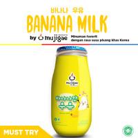 Mujigae Banana Milk Original 250mL / Susu Pisang Korea