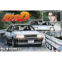 Aoshima 05736 1/24 Wataru Akiyama AE86 Levin - Initial D