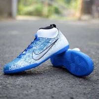 Sepatu Futsal Boots Nike Mercurial X Super Fly Tosca Stabilo Blue