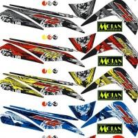 Sticker Striping Variasi Mio Soul Gt 2012-2014 Transformer