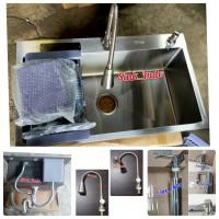 PROMO Bak Cuci Piring Set kitchen Sink Set Westafel Uk 75 Stainles 304