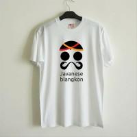Tshirt Blangkon - Putih, S