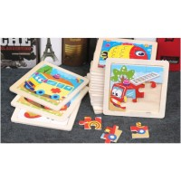 Puzzle Kayu / Jigsaw Puzzle / Wooden Puzzle 9 Keping Lucu