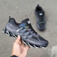 Adidas Springblade AX2 Hitam Putih Sepatu Sneakers Pria